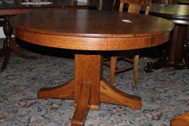 antique quarter sawn oak dining table and chairs. 48\u2033 quartersawn oak table antique quarter sawn dining and chairs e