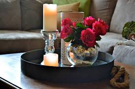 Simple Candle Decoration Centerpiece Creative Living Room Centerpiece Decorating Ideas