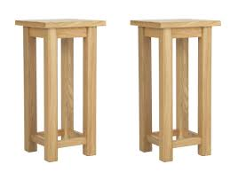 oak side table. Yabbyou Pair Of Solid Oak Bedside Tables 55cm High: Amazon.co.uk: Kitchen \u0026 Home Side Table T