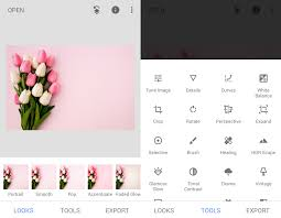 how to remove background in snapseed