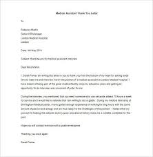 Interview Letters Samples Medical School Interview Thank You Letter Interview Thank