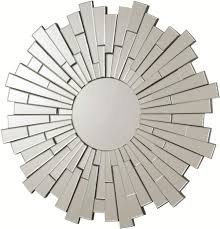 buy unique modern round wall mirror in chicago  dhe