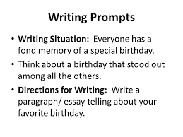 building essays building essays using the four square writing writing prompts writing situation everyone has a fond memory of a special birthday