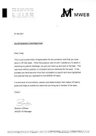 Contribution Letter Outstanding Contribution Letter Mweb