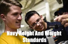 Navy Bmi Standards Chart Navy Height And Weight Standards Updated For 2019