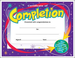 certificates of completion for kids certificate of completion for kids adecs certificates