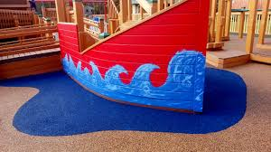 poured in place rubber playground flooring adventureturf rubber surface installer