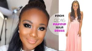 prom makeup prom get ready with me hair dress lets learn makeup