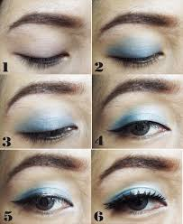 tutorial make up mata natural lat sehari hari berikut eye makeup blue over you 1 pertama
