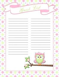 Guest Sign In Sheet Template – Findspeed