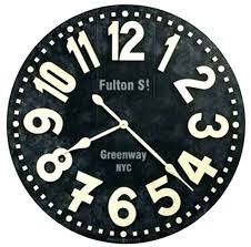24 inch wall clock outdoor clocks miller street