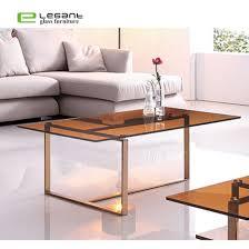 china glass coffee table glass tea table