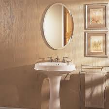 Oval Bathroom Mirrors Gorgeous Framed Bathroom Mirrors Ideas Part