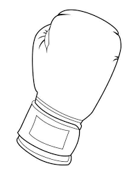 Boxing Gloves Coloring Pages Getwallpapersus