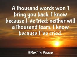 Rip Quotes Best Rest In Peace Quotes And Notes For A Friend Best Quotes