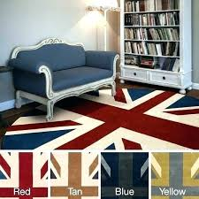 8 x 5 area rug target rugs hand tufted union jack novelty contemporary round kitchen
