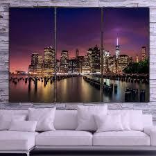 on new york city skyline canvas wall art with new york city skyline canvas wall art sunset holycowcanvas