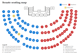 Senate Seating Chart Senate Seating Map For The 114th Congress