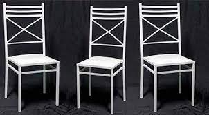 Cadeira de Ferro Branca - Cia da Festa Locações