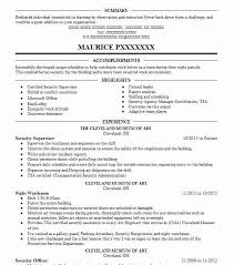 Security Supervisor Resume Classy Best Security Supervisor Resume Example LiveCareer