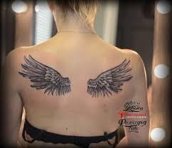 крылья на спине тату салон юрец удалец философия тату