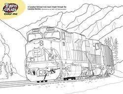 Small Picture Real Train Coloring Pages Coloring Pages Trains4Kids Magazine