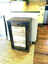 kitchen trash containers wooden trash cans for kitchen wooden kitchen trash containers wooden trash bin garbage