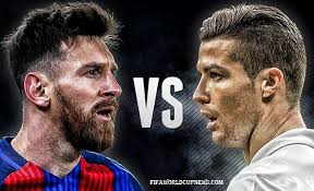 Image result for picture of messi and ronaldo together