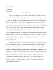 urban jungle essay amanda figueroa mr tumlinson english iii dc 5 pages the true meaning essay