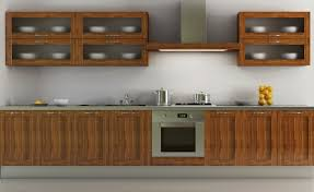 Wooden Furniture For Kitchen Kitchen Room Classical Wooden Transparent Kitchen Wall Cabinet