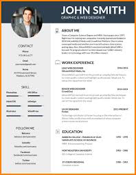 Cool Resumes Inspiration Resume Template Creative Formats Free Intended For Cool Templates