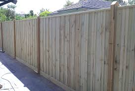 fence. Paling Fencing. Includes Posts, Palings, Rails \u0026 Plinth (Full Package) Fence