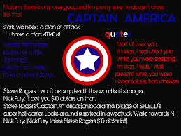 America Quotes Awesome Captain America Quotes By Prinzesschen48 On DeviantArt