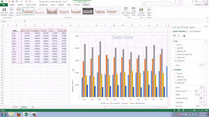 Add Primary Major Vertical Gridlines To The Clustered Bar Chart How To Add And Change Gridlines In Your Excel 2013 Chart