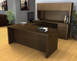 office table furniture design. Exellent Furniture Brown Cherry Office Furniture New U Shaped  For Table Design C