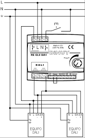 dimmer for dali ballast or led driver re el5 da1 dinuy wiring diagram