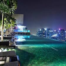 Marina Bay Sands Do you fancy a late night swiminthesky Thanks to