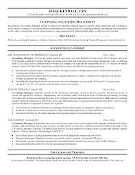 Accounting Manager Sample Resume Example Accounting Manager Resume ...