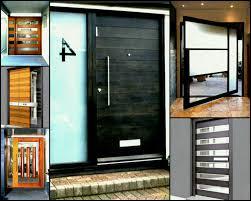 modern glass front door surprising home design designetal doors ideas