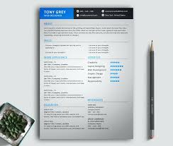 Unique Resumes Template Large Preview Freebie Simple Resume Creative