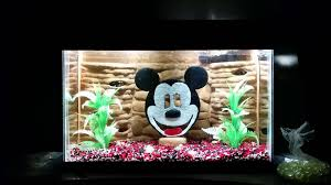 Mickey Mouse Fish Tank Decorations