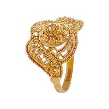 Traditional Ring Designs In Gold Embossed Beads Traditional Design Gold Ring In 2020 Gold