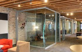 office sliding door. View Series Frameless Corner Glass Office With Soft Close Sliding Door Hardware