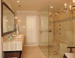 bathroom vanity remodel. Master Remodel Bathroom With Tall Winodw And Single Sink Vanity Under Framed Mirror Also