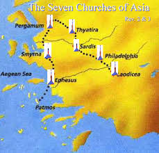 Letters To The Seven Churches Chart Are The Seven Churches A Map Of Church History