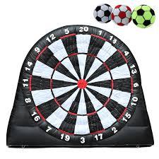 Us82599 4m 13ft High Giant Game Fotbalové Míče Nafukovací Dart Board S 220v Vzduch Blower Hračky Dítě Děti Péče O Matku From Dům A