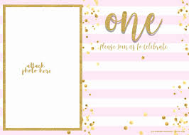 First Birthday Invitations Free Printable 038 Template Ideas Free Anniversary Invitation Best Of 1st