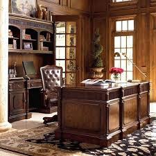 elegant office desk. exellent elegant desk officedeluxe home office desk set complete with elegant cabinet plus  leather tufted chair a
