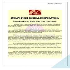 beautiful birla sun life insurance business continuity