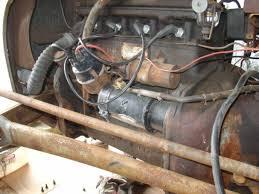 to where do these wires go harry ferguson forum starter photo